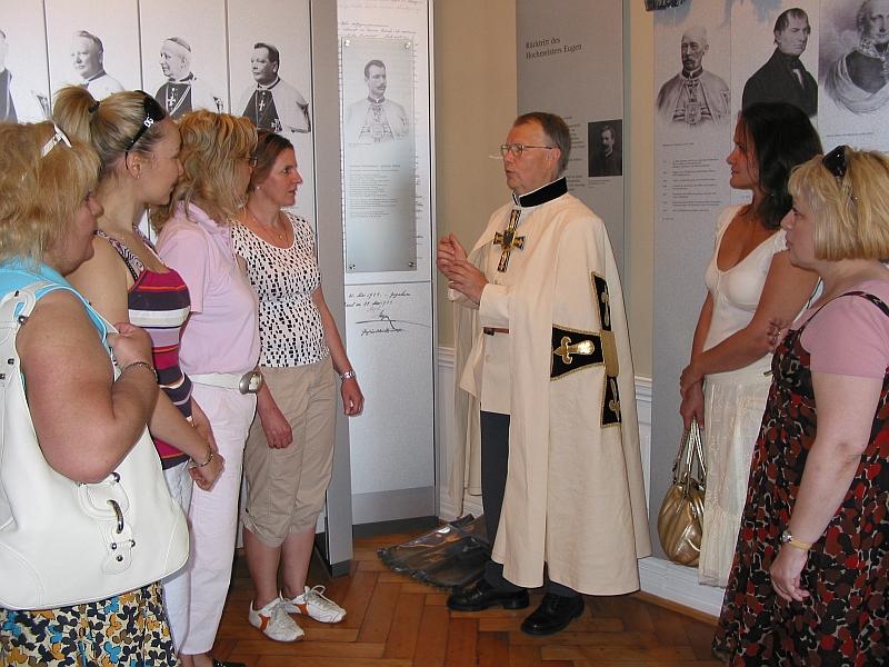Kostümführung im Deutschordensschloss mit dem Herzog Eugen
