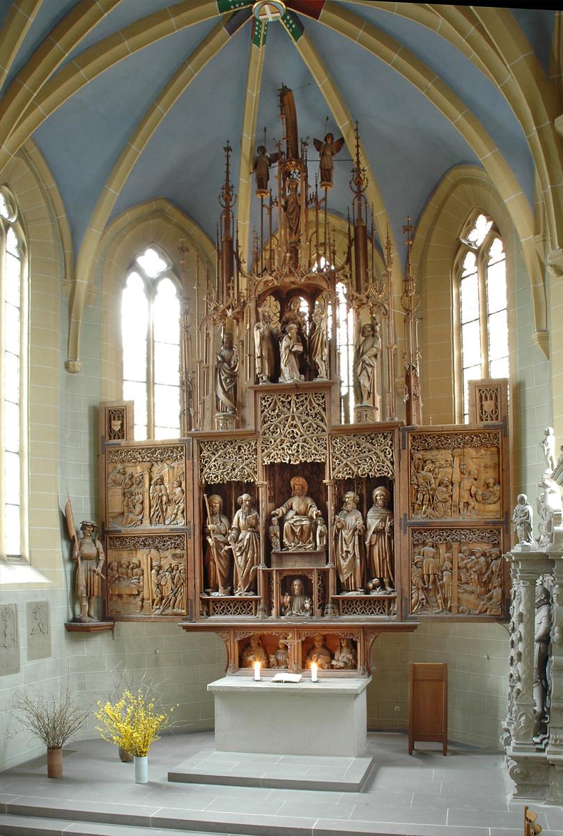 Jakobusaltar in Schlosskirche